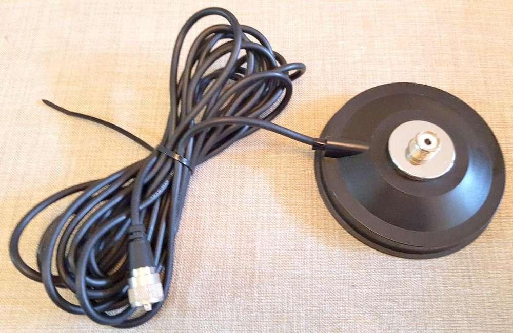 Base De Antena Magnética Para Vehículo Conector SO239