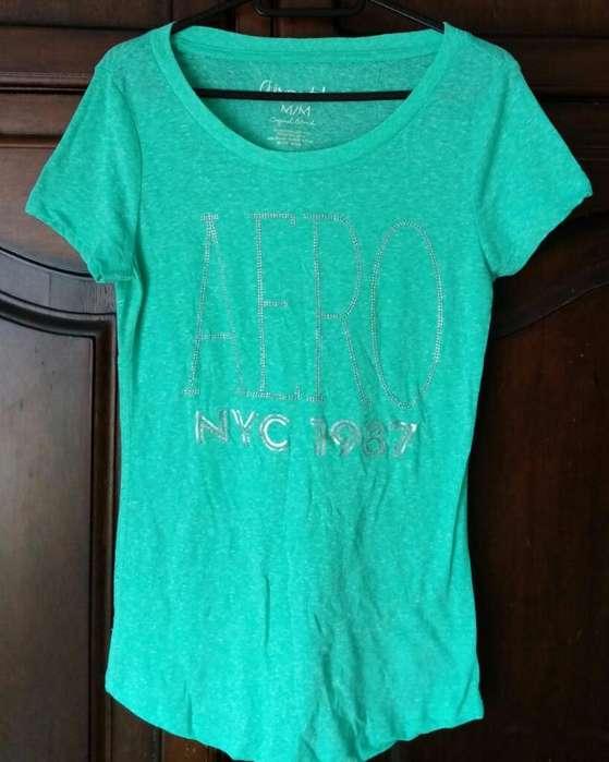 Camiseta Aeropostale Mujer Talla M Nueva