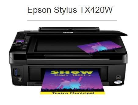 Impresora Multifuncion Epson Tx420w <strong>wifi</strong>