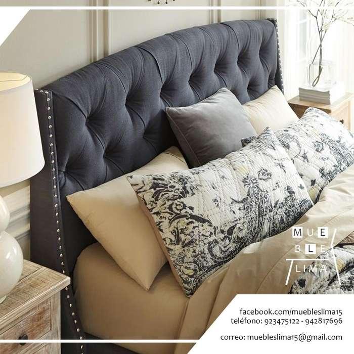 cabeceras de cama tapizadas