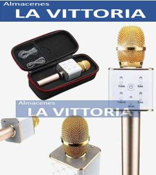 Micrófono Parlante Bluetooth Karaoke