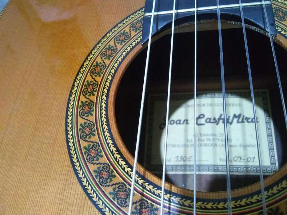 Guitarra Clasica Joan Cashimira Con Hard Case