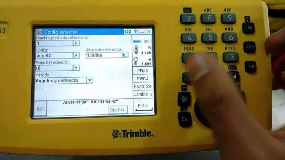 Estacion Total Trimble S3 7500