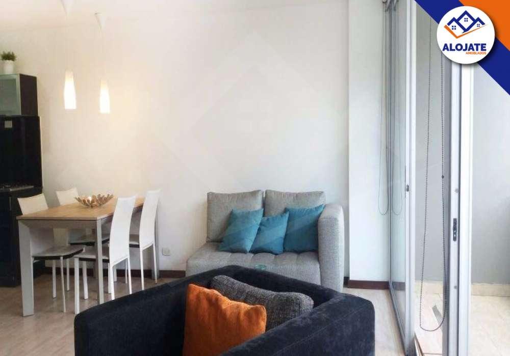 Apartamento amoblado en poblado – Vizcaya ID028