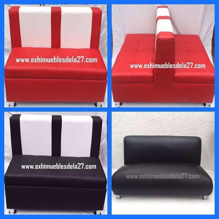 diferentes Juegos de sillas mesas y puff para bar restaurante discoteca fruteria pizzeria