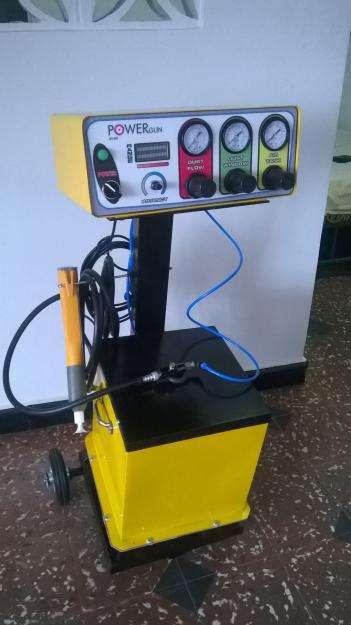 Equipo de pintura electrostatica industrial