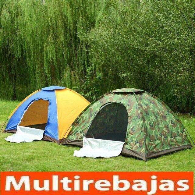 Carpa Impermeable Para <strong>camping</strong> Diseño Camuflaje 4 personas