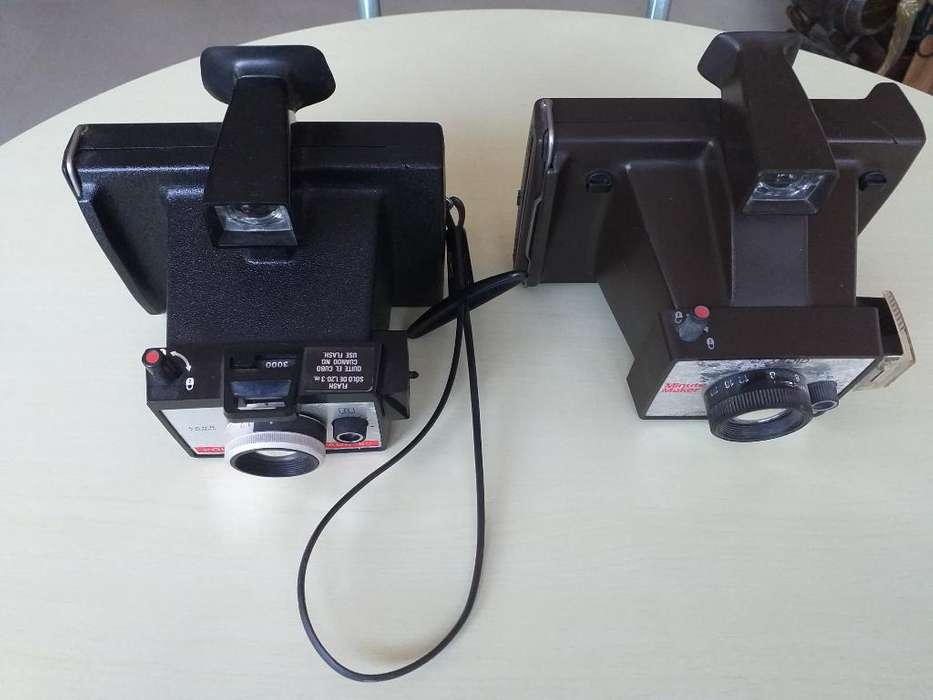Cámaras Instantaneas Polaroid Antiguas