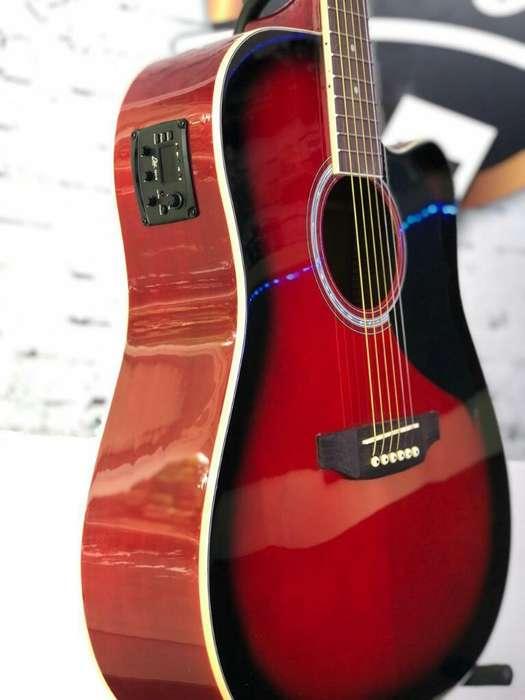 Guitarra Electroacústica Eko Italiana