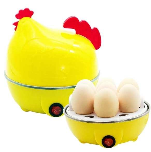 Hervidor Automatico Electrico Hierve Huevos Forma De Gallina