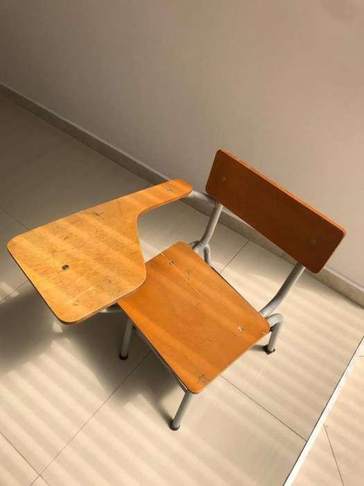 <strong>silla</strong>s universitarias en madera