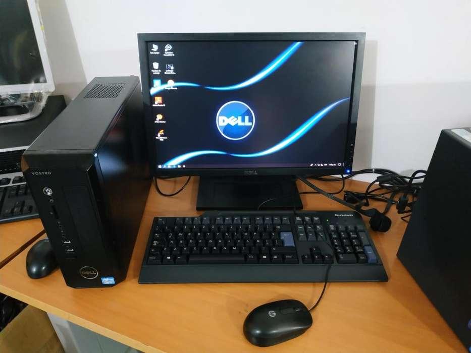 COMO NUEVOS / CORE 2 DUO DE 3.0 /2GB DE RAM DDR3 /500GB DE DISCO DURO / PANTALLA LCD DE 19 / GARANTIZADOS.