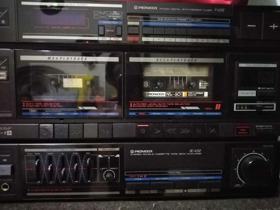 Vendo Pioneer Dc-x21z, Original, Bafles