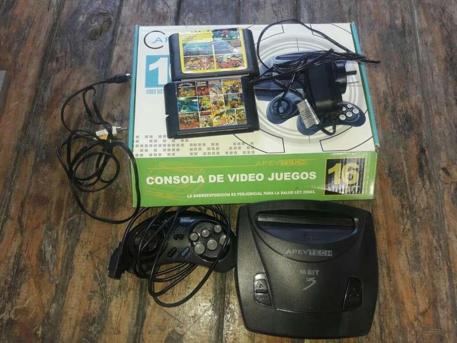 Sega Nuevo Un Joystick.2múltiples Juegos
