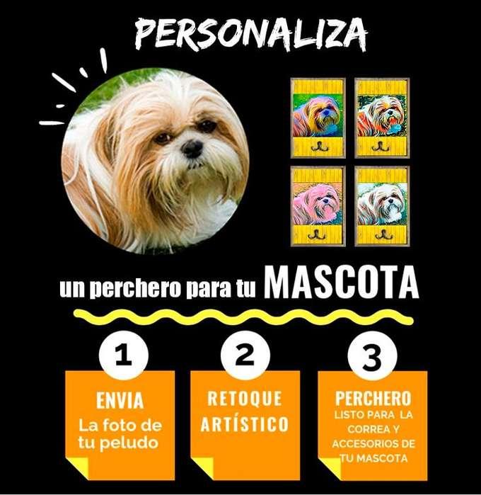 Percheros Personalizados Para Tu Mascota Perros, Gatos