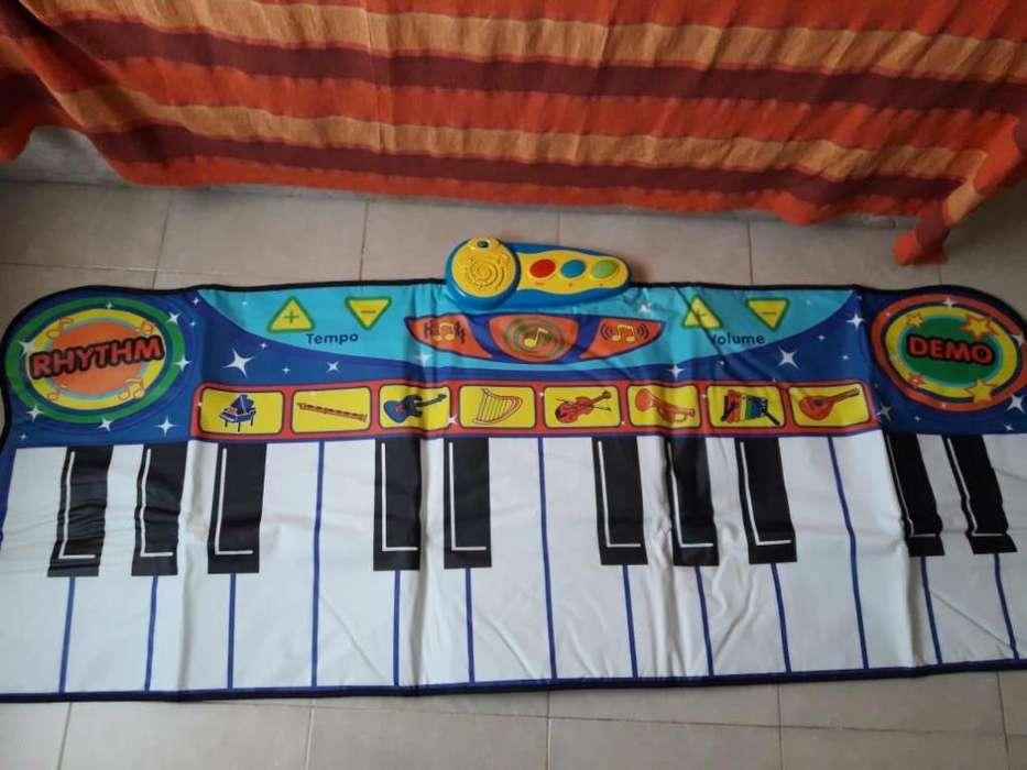 Alfombra Piano Musical