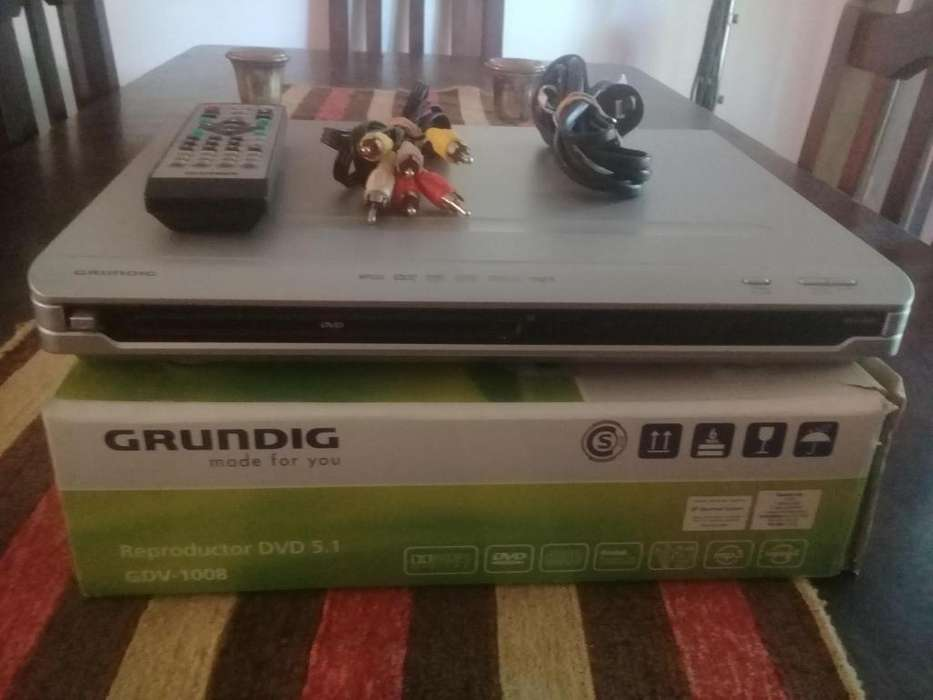 Reproductor de DVD Grundig 5.1 GDV-1008