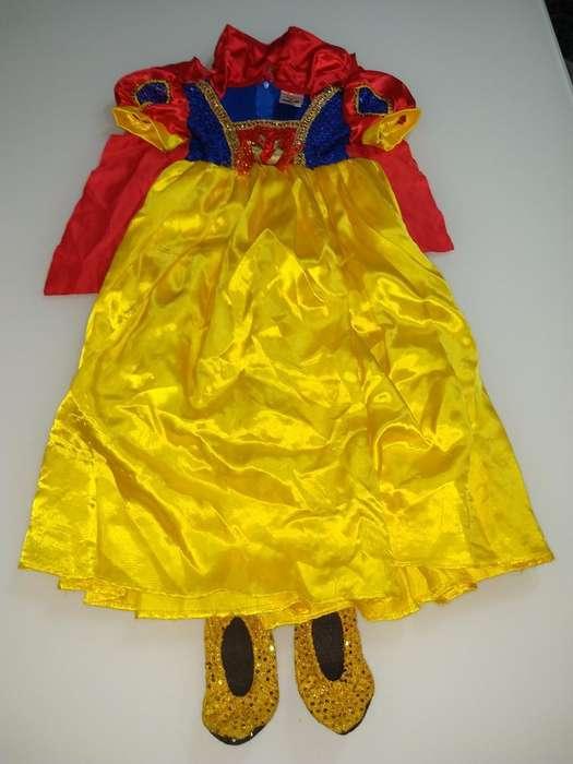 Disfraz Blanca Nieves Talla 4 Fantastic