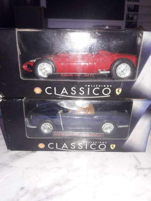 Autos de Colección Escuderia Ferrari