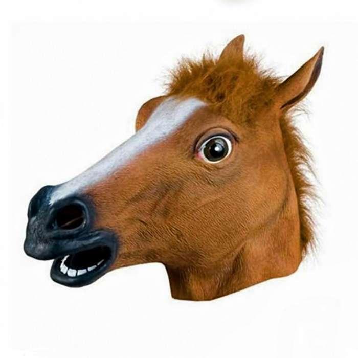Mascara chistosa de caballo talla unica halloween cabeza caballo