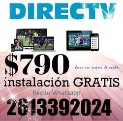 DIRECTV HD INSTALACION 2X1