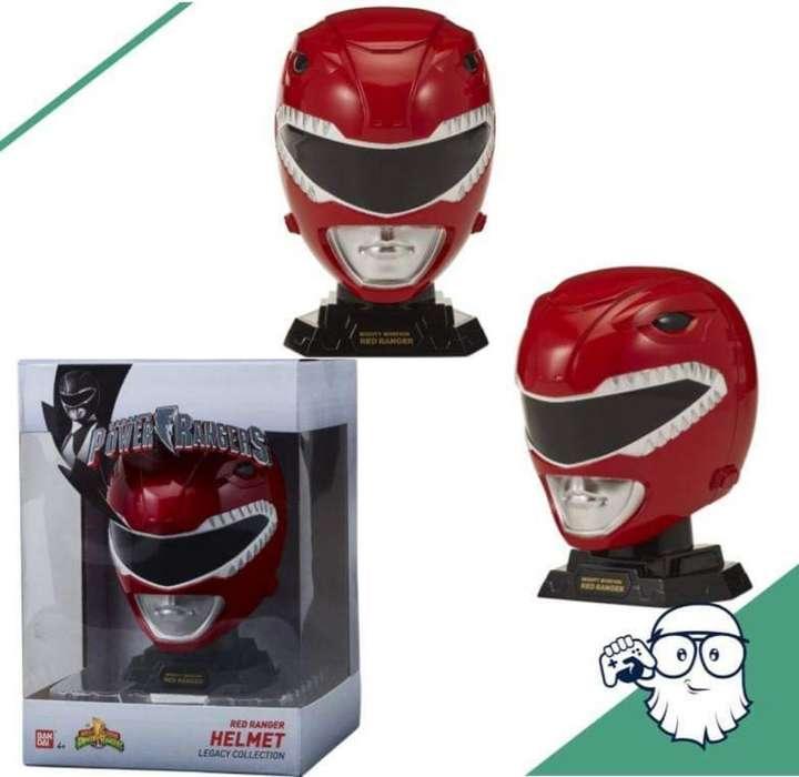 Bandai Casco Power Ranger Red Escala 1/4
