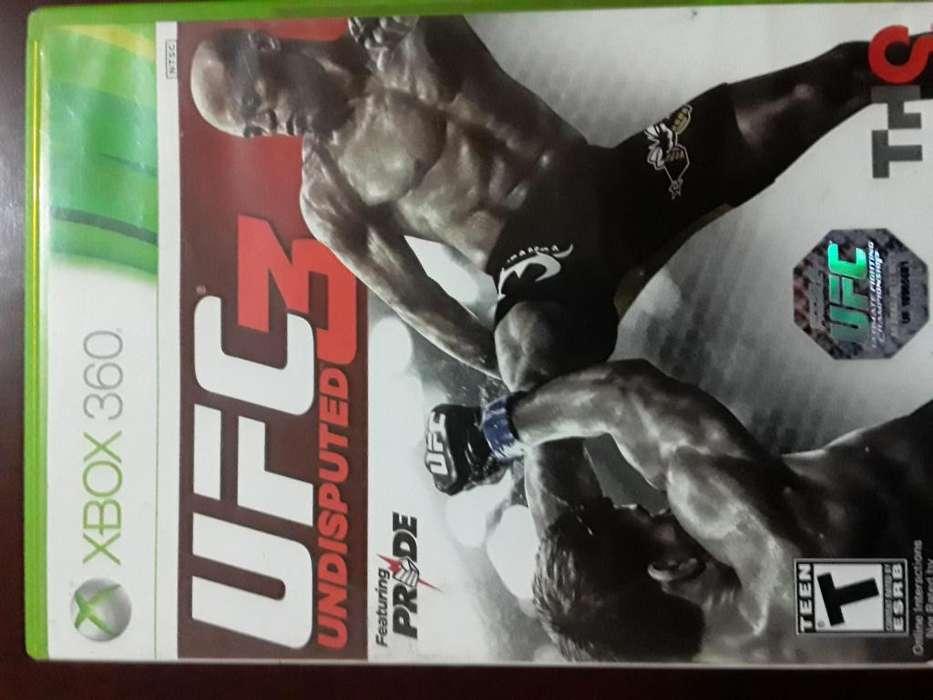 UFC 3 UNDISPUTED - XBOX 360 - JUEGO ORIGINAL
