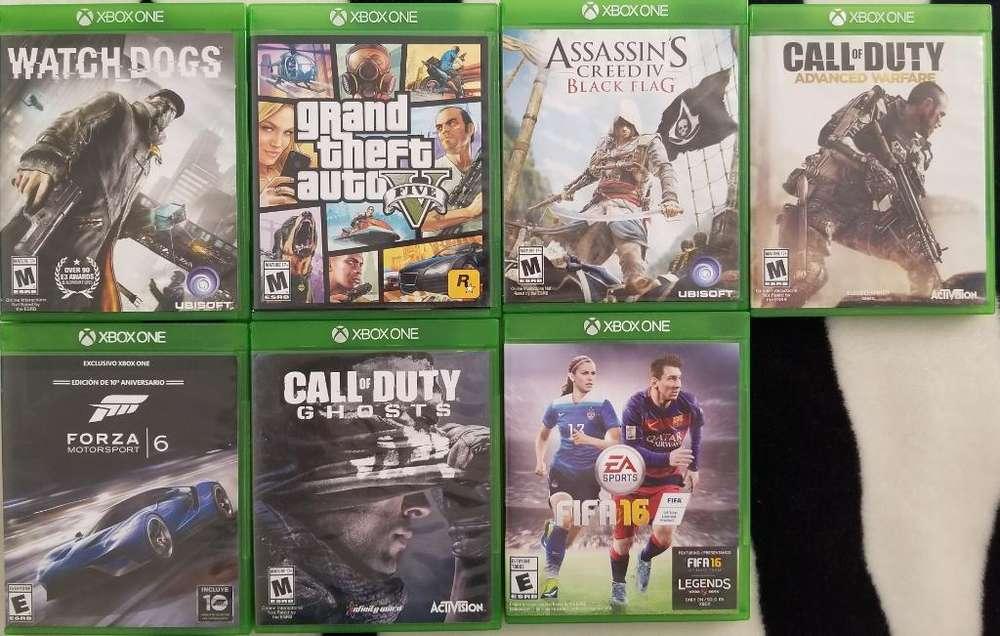 Juegos de Xbox One a La Venta