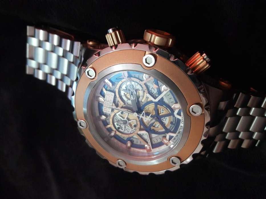Reloj invicta Reserve 12907 oro rosa