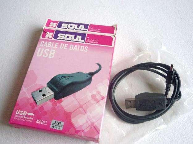 Cable De Datos Usb microUSB Microusb Datos Carga Samsung Lg Motorola Nokia Tablet