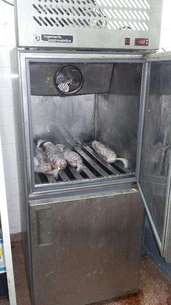 Freezer Vertical Acero Inox