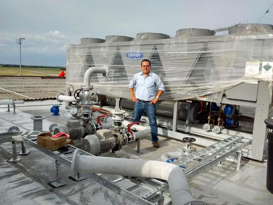Fabrica de Sistemas de Aire Acondicionado, bioclimatizacion, ventilación y extracción de calor Cali y valle del cauca