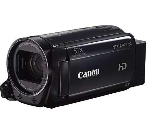 Camara canon hf r700, tripode 1,70, microfono boya y morral, combo youtuber