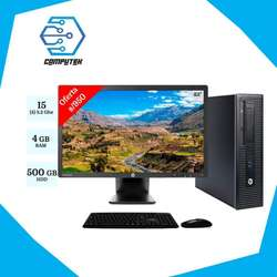 *HP PRODESK 600 G1 - Core i5 4 Gen, Ram 4Gb, Disco 500Gb   Monitor 23