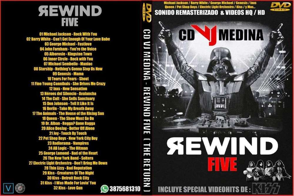 Dvd Video Musica Retro Rewind 5