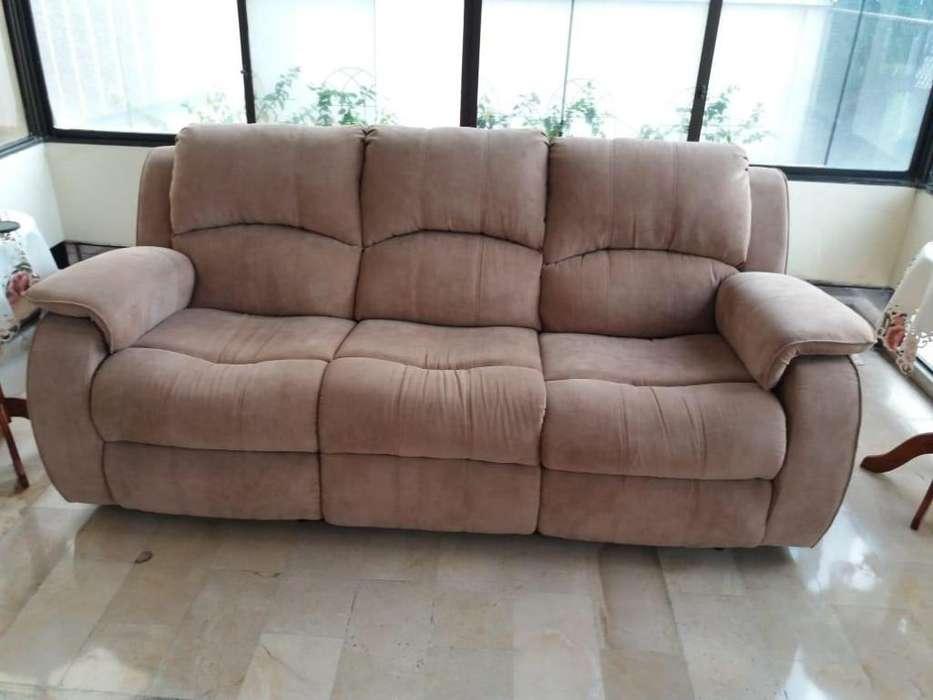 Sofá reclinables de 3 puestos