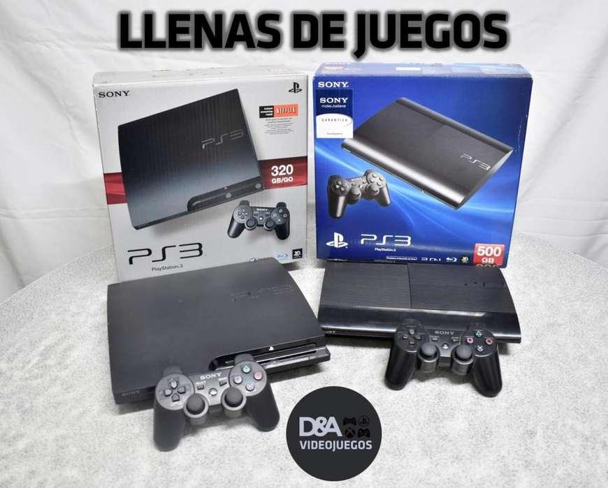 PS3 LLENAS DE JUEGOS!