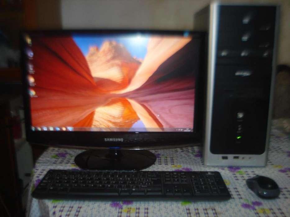 Computadora Athlon 64x2 C/monitor Lcd Samsung 20 Impecable!!