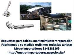 Toldo parasol  importado 3mt ancho x 2mt proyeccion, compralo Online en 24 coutas