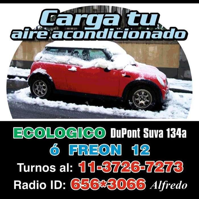 AIRE ACONDICIONADO AUTOMOTOR VACÍO Y CARGA DUPONT SUVA 134A