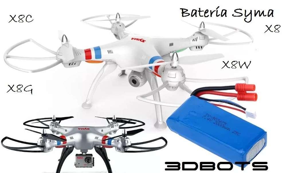 Bateria Dron Drone Cuadricóptero Syma X8, X8c, X8g, X8w