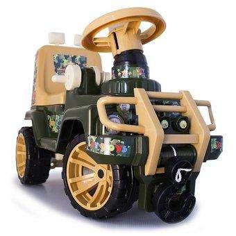 Montable Jeep Jungla Carro Juguete Niños Silla Abatible Nuev