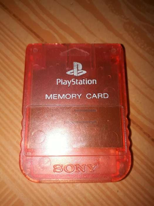 Vendo Memory Card Ps1 en Exelente Estado