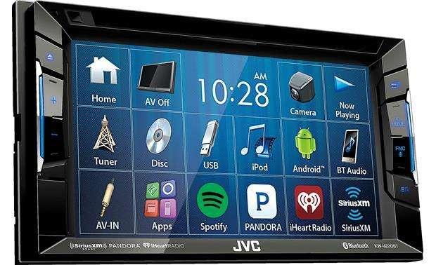 Radio autio JVC KW-V230BT DVD USB Bluetooth pantalla 6.2