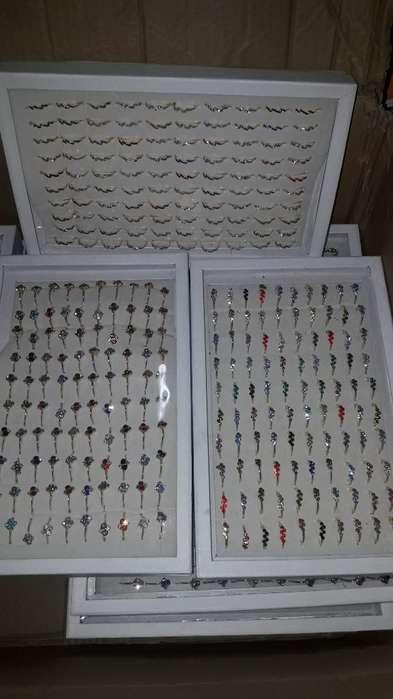Caja de <strong>anillos</strong> X 100 Unidades