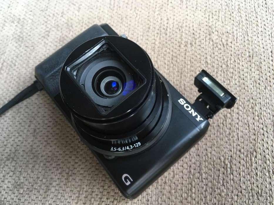 Espectacular Camara <strong>sony</strong> HX50V 20 megapixels zoom 30X con GPS y WIFI