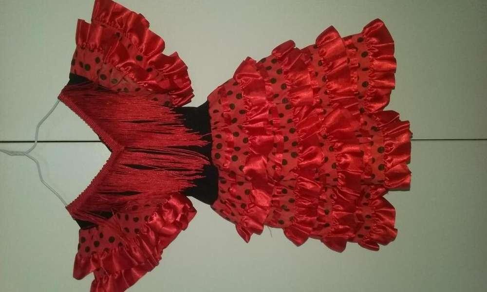 Vestido Flamenco talle 2