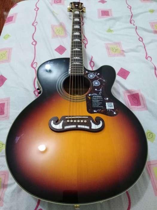 Guitarra Electroacustica Epiphone Ej 200