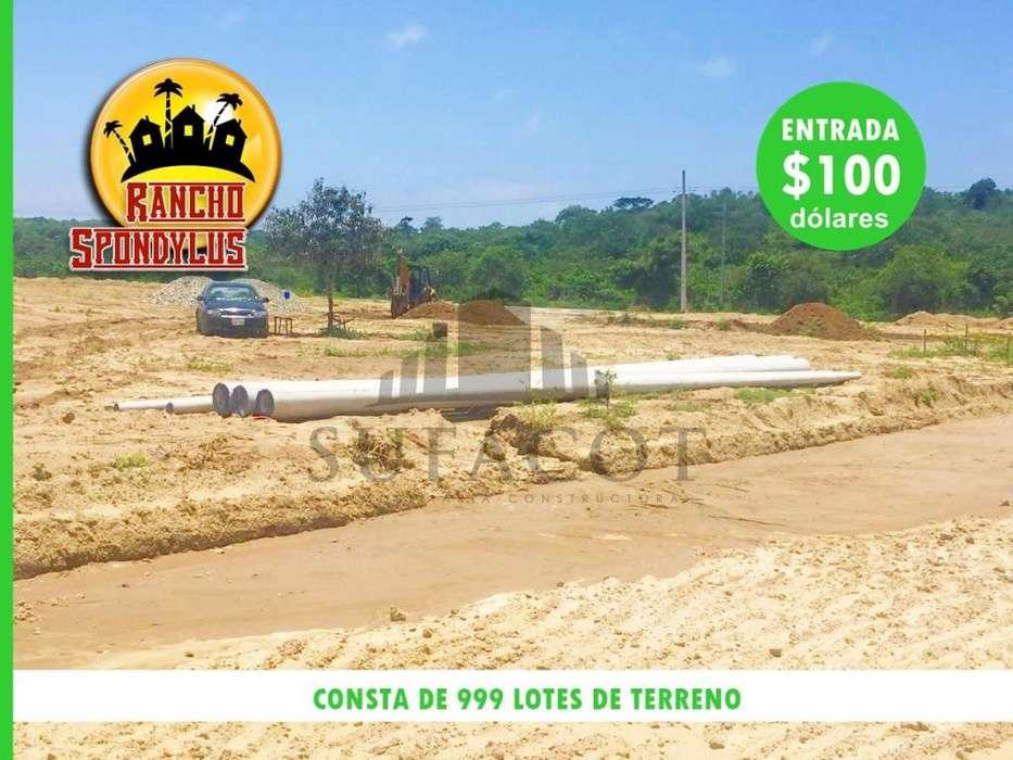 Credito Directo 72 meses plazo 100 dolares de entrada lotes de terreno en urbanizacion privada SD9