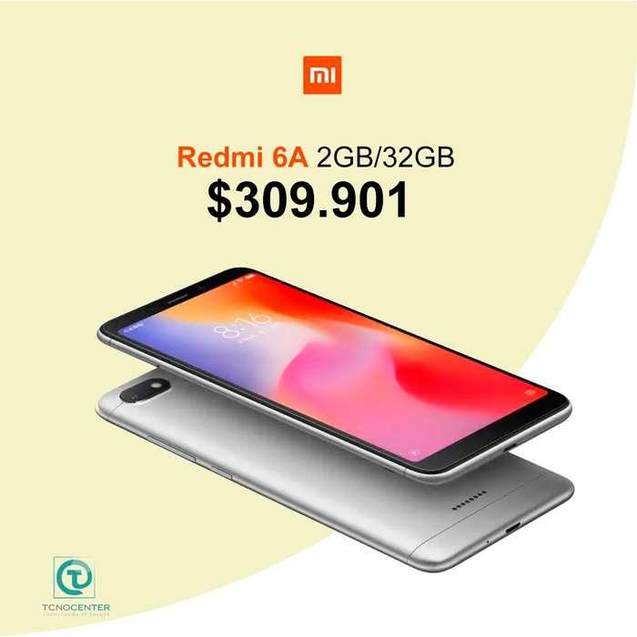 Xiaomi Redmi 6a 2GB/32GB, TIENDA FÍSICA ,nuevo, homologado, sellado, factura de compra,garantía.